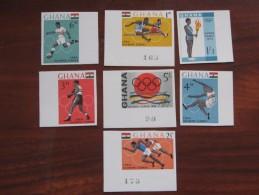 Ghana 1964 MNH Imperf - Zomer 1964: Tokyo