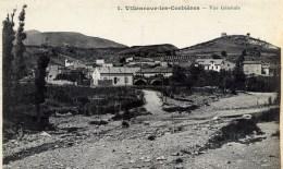 11 VILLENEUVE DES CORBIERES Vue Générale  Ed.PALAU - Autres Communes