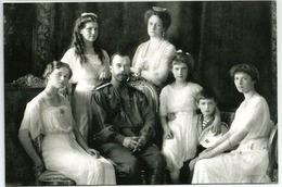 The Russian Imperial Romanov Family (Tsar Alexandre II, Alexandra Fyodorovna And Their Children), Carte Adressée ANDORRA - Russie