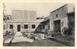 ERCOLANO Giardino Della Casa Dell´Atrio A Mosaico,  2 Scans - Ercolano