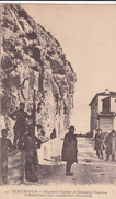 G , Cp , DOUANE , VENTIMIGLIA , Doganieri Italiani Et Gendarmi Francese Al Ponte San-Luigi, Confine Italo-Francese - Douane