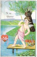 CPA / AK / PK  -   To My Valentine  ( SAINT VALENTIN ) - Saint-Valentin