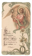 Santino.31 Paris 1908 Prima Comunione - Vecchi Documenti