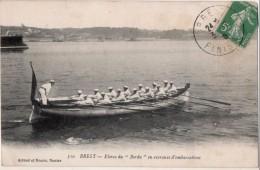 Brest Elèves Du Borda En Exercices D Embarcations - Brest