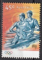1862j Australia 2000 Sport Olimpici : Rowing Canottaggio. Viaggiato Used Perf. 14 E 3/4 X 14 - Canottaggio