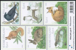 2004 Finland Mi Bl 34 Forest Animals Miniature Sheet MNH.