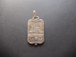 Medaglia Religiosa - Centenario Madonna Di Lourdes 1908 - ME39 - Gettoni E Medaglie