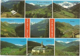 Y2339 Saluti Dalla Valdidentro (Sondrio) - Semogo Isolaccia Pradelle Pedenosso Turripiano Valle Lia / Viaggiata 1985 - Other Cities