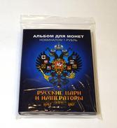 Russia, 2016, Russian Tsars & Emperors, Colored 24 Coins X 1 Rubel In Album - Russland