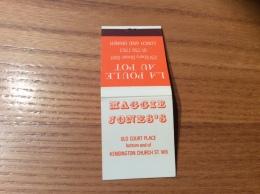 """Pochette D´allumettes ANGLETERRE """"MAGGIE JONE'S / LA POULE AU POT"""" (Londres) - Boites D'allumettes"""