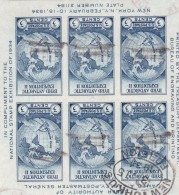 Estados Unidos Hb 3 Usada - Blocks & Kleinbögen
