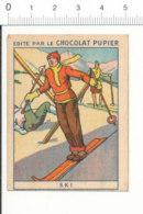 Chromo Chocolat Pupier Sports Modernes  / Sport Ski / 138/1-B - Chocolate