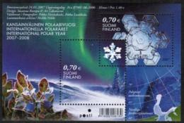 2007 Finland Michel Block 42 Int. Polar Year  MNH **.