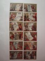 Liebig - Passeports Etrangers - Série S.92 -1878 - Série De 12 Chromos En TBE - (lot 23-1) RR - Liebig