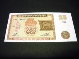 ARMENIE 25 Dram 1993,pick N°34,Armenia - Arménie