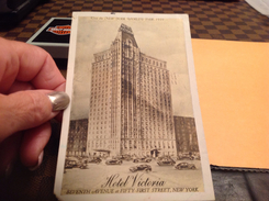 New York World Trait 1939 Hôtel Victoria En L état - World Trade Center