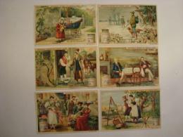 Liebig - PUZZLES (Où Est Caché...) - Série S.559 -1898 - Série De 6 Chromos En TBE - Ed. Belge - (lot 186-2) - Liebig