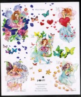 2010 Finland Miniature Sheet Valentine´s Day, Fairies MNH **.