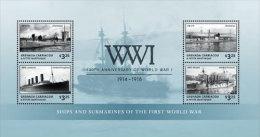 Grenada Grenadines-2014-War-WWI-W Orld War One - St.-Vincent En De Grenadines