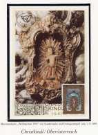 MAXIMUMKARTE - Weihnachten 1995 - Mit Sondermarke Und Erstagstempel Vom 1.12.1995 - Maximumkarten (MC)