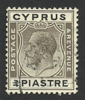 Cyprus, 3/4 Pi, 1925, Sc # 93, Mi # 103, Used. - Cyprus (...-1960)
