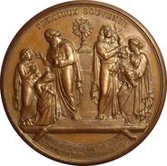 FRANCE. MÉDAILLE PRECIEUX SOUVENIR. 1.868. FRANCIA - Profesionales / De Sociedad