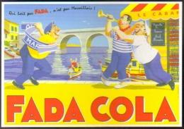 "Carte Postale ""Cart'Com"" (2004) Fada Cola - Marseille (boisson) Illustration : R Campana - Werbepostkarten"