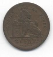 BELGIQUE 2 CENT 1833 +1860 + 1864  TB/TTB - 1831-1865: Léopold I