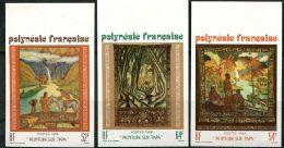 Polynésie, Non Dentelé N° 303 à N° 305** Y Et T, N° 308 à N 310** Dallay - Non Dentelés, épreuves & Variétés