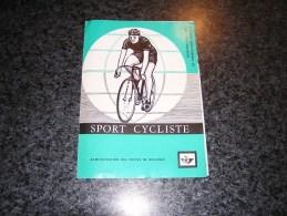 SPORT CYCLISTE 1963 Feuillet Poste Belgique 1255 à 1258 Timbres Oblitérés 1 Jour Brussel Bruxelles Cyclisme Vélo Stamp - Velletjes