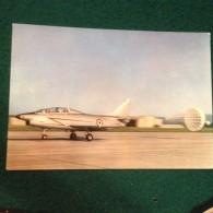Cartolina Aereo Fiat G 91 T Paracadute - 1946-....: Moderne