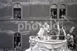 1951 CORSO PARADE FESTZUG OFFENBACH AM MAIN GERMANY DEUTSCHLAND ORIGINAL AMATEUR 35mm NEGATIVE NOT PHOTO NO FOTO BILD - Autres