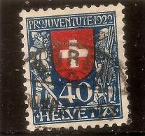 SUISSE - 1922 - N°191 OBL COTE 55.00 €  (LOT - 22 - 051) - Oblitérés