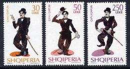 Albania Stamps 1999. Charlie Chaplin. Set MNH. Mi 2696-2698. - Albania