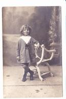PETIT GARCON DEVANT BERGERE, PORTRAIT, Ed. ? 1920 Environ - Photographie