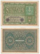 Alemania - Germany 50 Mark 1919 Pick 66 Ref 47-3 - [ 3] 1918-1933 : República De Weimar