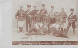 Foto Deutscher Soldat 1.Weltkrieg Husaren Regiment 10 Stendal Berittmachungs-Komando Altengrabow1911 - Krieg, Militär