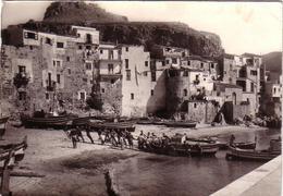 Cefalù-PALERMO LA MARINA-CARTOLINA VIAGGIATA IL 13-07-1962 - Palermo