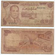 Marruecos - Morocco 10 Dirhams 1970 Pick 57.a Ref 930 - Marruecos