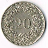 Switzerland 1955B 20c (1) - Switzerland