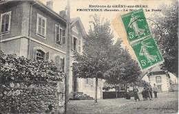 Environs De GRESY-sur-ISERE : FRONTENEX - La Mairie Et La Poste - Gresy Sur Isere