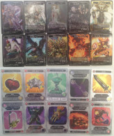Shinpo Taisen Teosumakia : 10 Japanese Trading Cards - Trading Cards