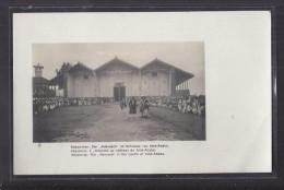 CPA ETHIOPIE - ABYSSINIE - ADIS-ABABA - L' Aderach Au Château De Adis-Ababa - SUPERBE PLAN Et ANIMATION - Etiopía