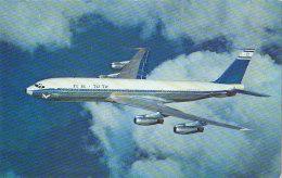 El Al Israel Boeing 707 Airline Issue Postcard - 1946-....: Modern Era