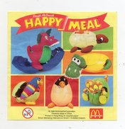 MC DONALD'S - 1998 -  Cartina Sorpresa Happy Meal -  (FDC896) - Istruzioni