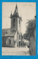 MORHANGE    L'Eglise   Animées    écrite En 1922 - Morhange