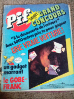 RRR VINTAGE COLLECTABLE COMICS FRANCE PIF N*420 EARLY GADGET  EDITION - Pif - Autres