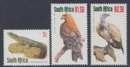 D11053 South Africa 2000 SCARCE ADDITIONAL DEFINITIVE VULTURE EAGLE Birds MNH Set- Afrique Du Sud Afrika RSA Sudafrika - Unclassified