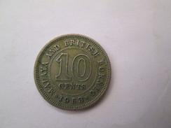MALAYA And BRITISH BORNEO 10 Cents 1953   # 4 - Malaysia