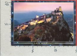 CARTOLINA NV SAN MARINO - Prima Torre E Centro Storico - 10 X 15 - San Marino